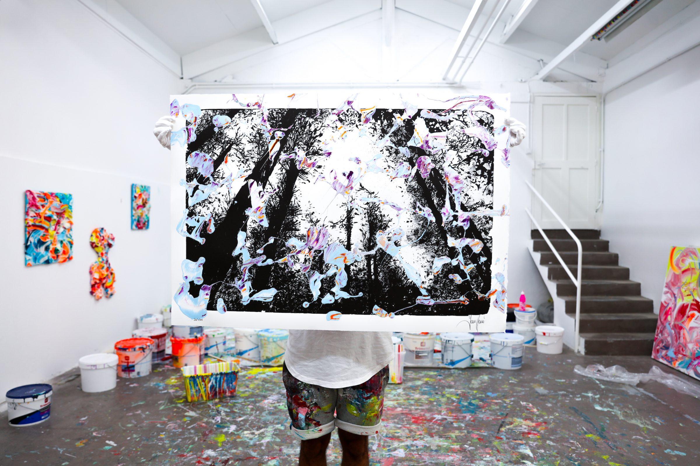 Yann Houri - Lithographie #03