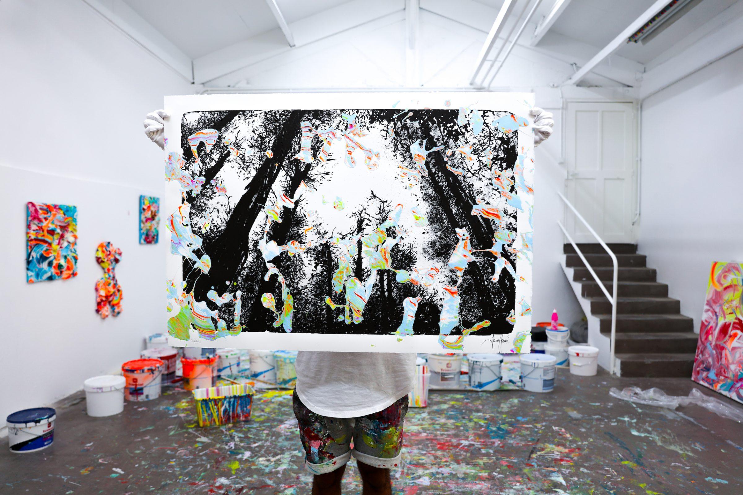 Yann Houri - Lithographie #05
