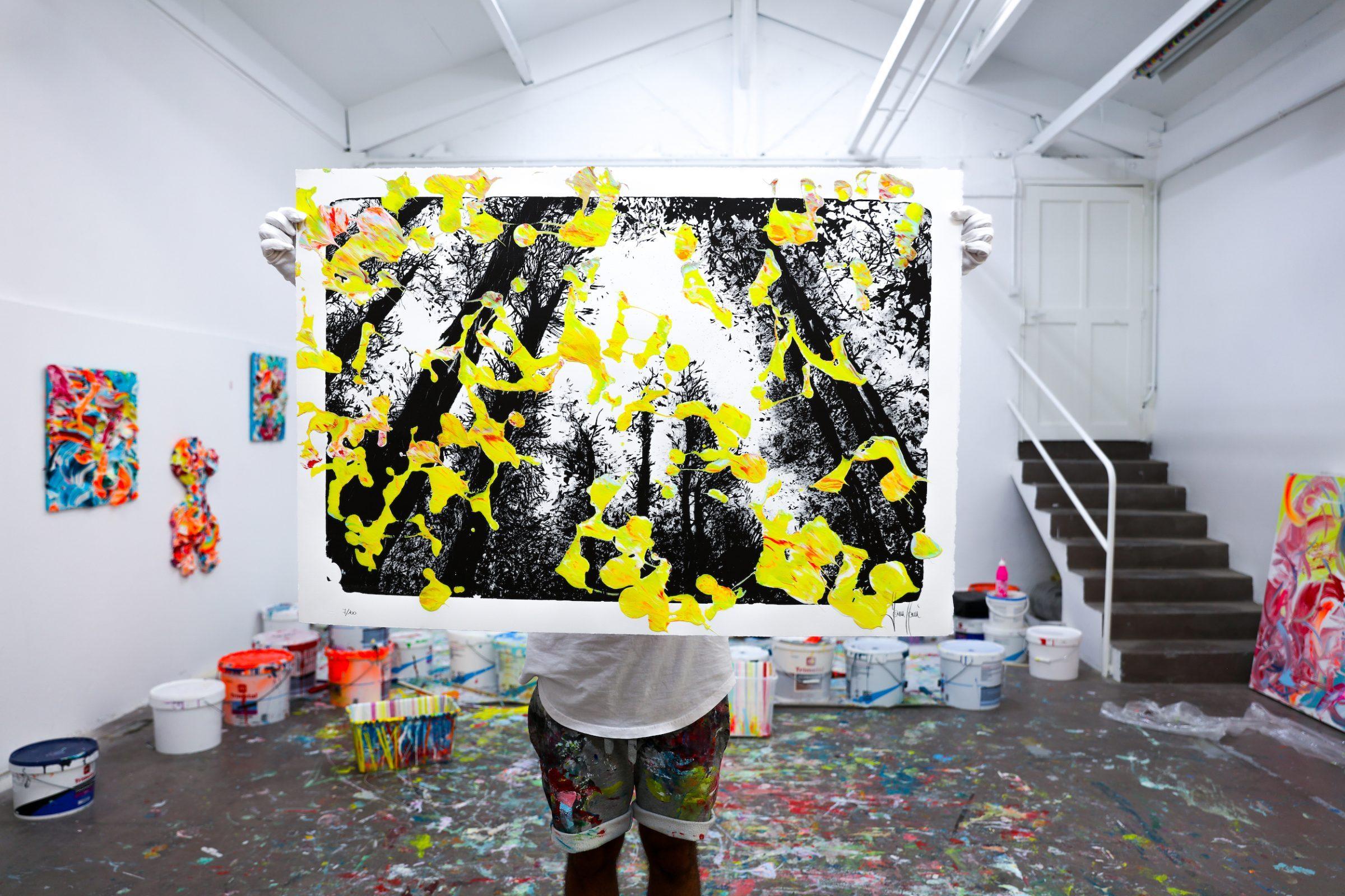 Yann Houri - Lithographie #07