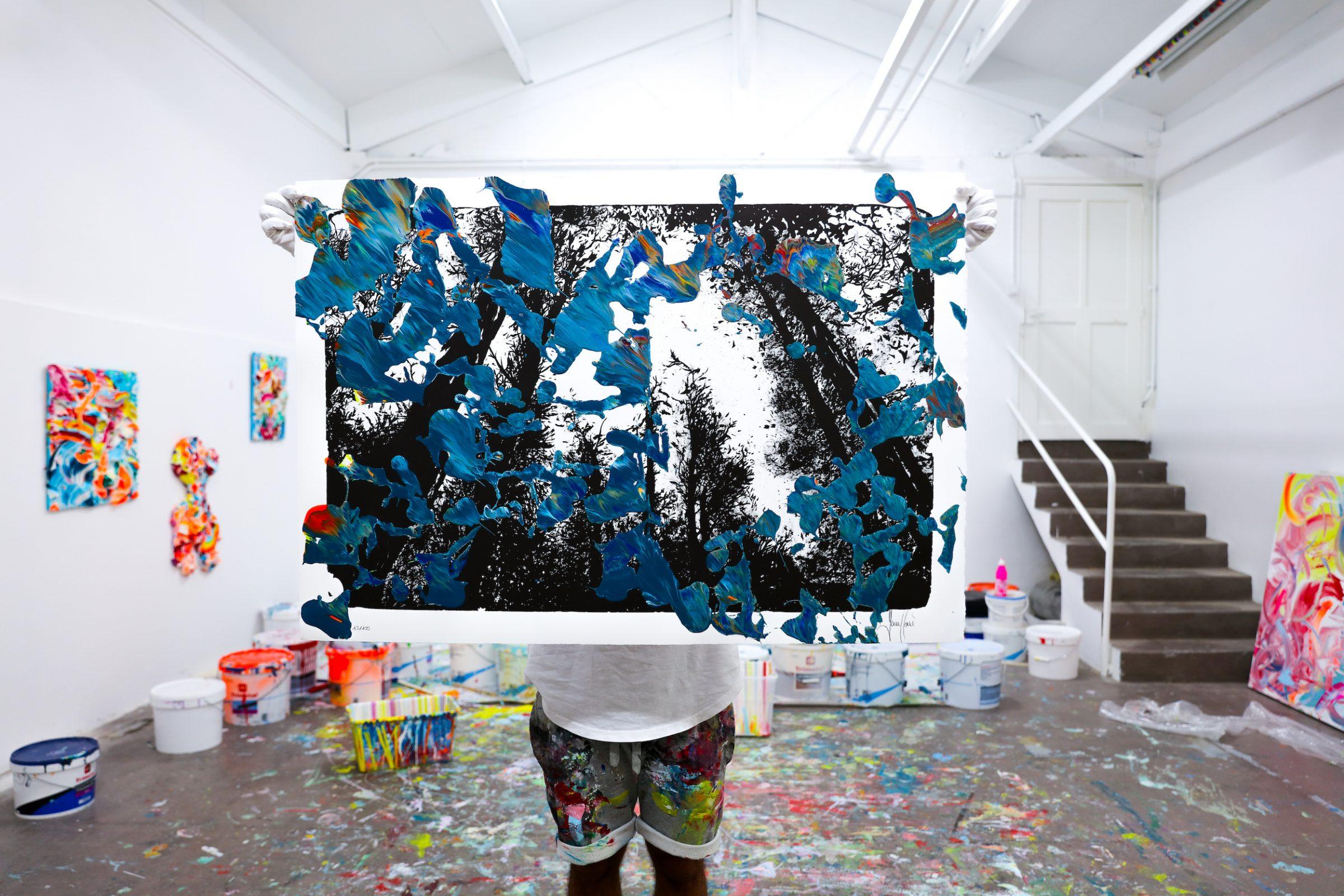 Yann Houri - Lithographie #13