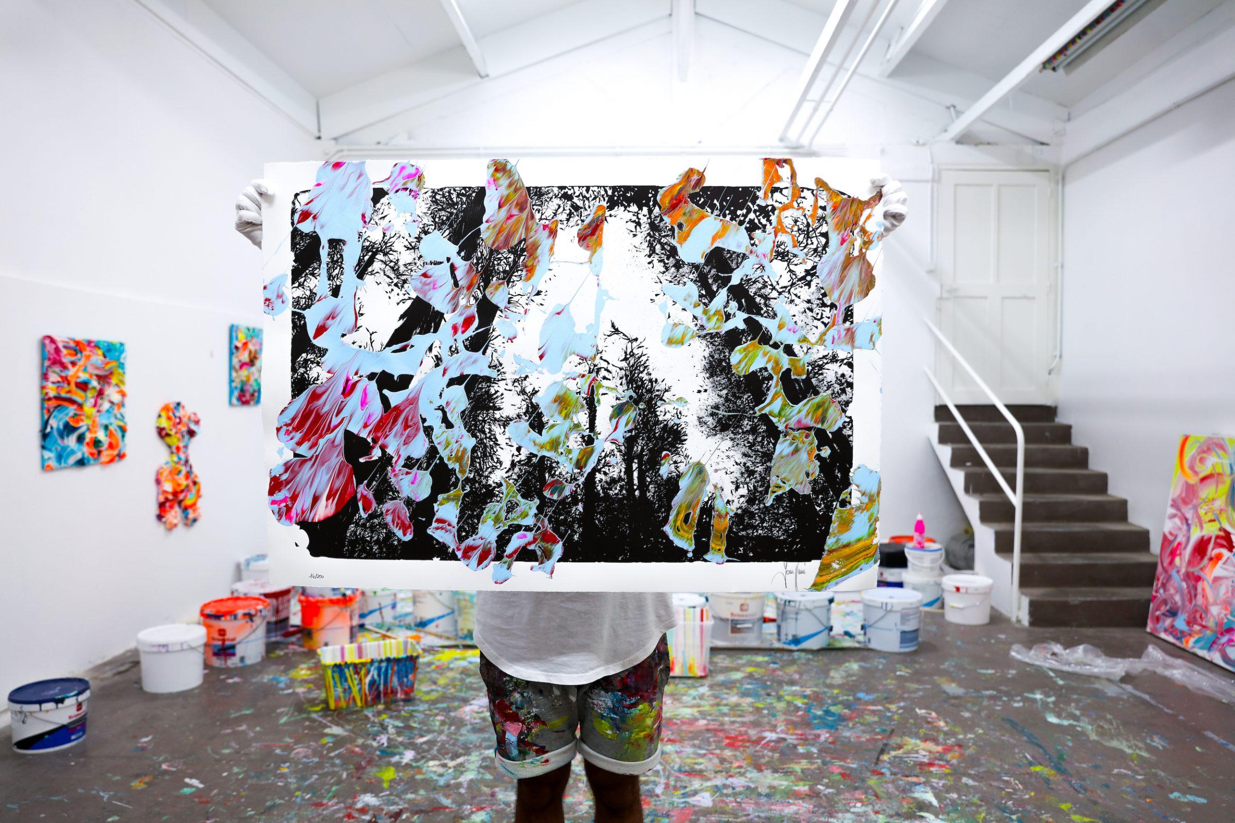 Yann Houri - Lithographie #14