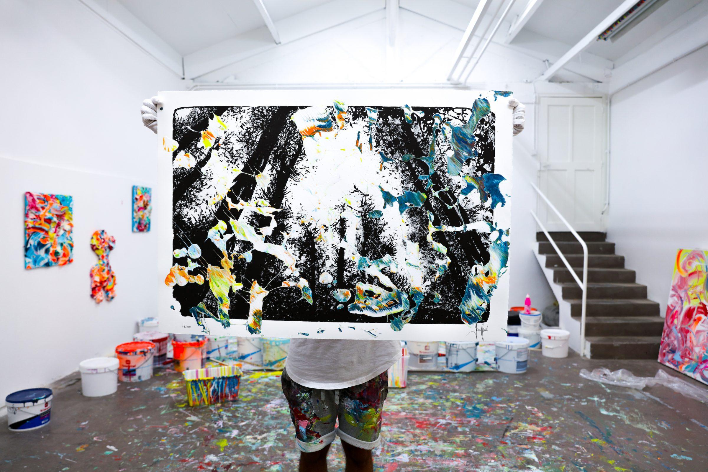 Yann Houri - Lithographie #19