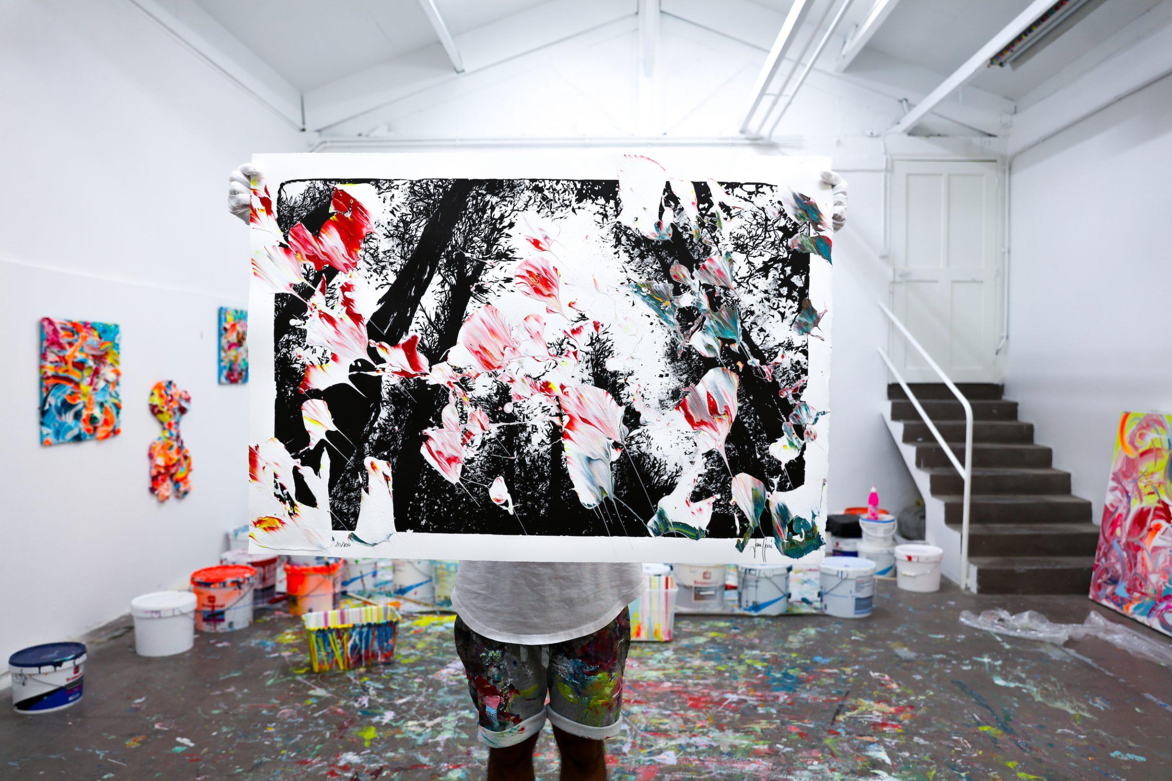 Yann Houri - Lithographie #20
